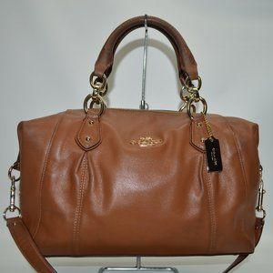 Coach Colette Luggage Tan Satchel F33806